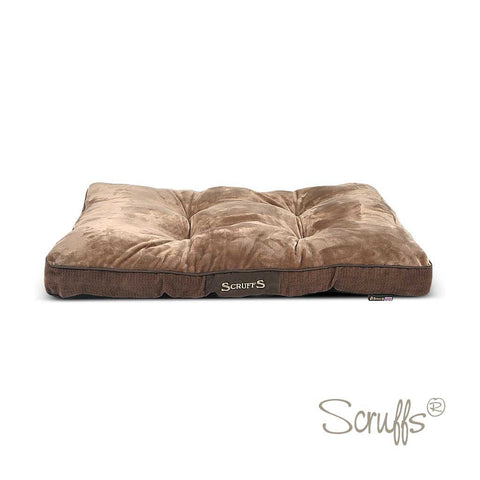 Scruffs Chester Mattress Chocolate Brown