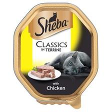 Sheba Classics Cat Food In Terrine - With Chicken - 22 x 85g