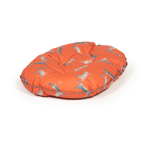 Danish Design Deluxe Woodland Slumber Dog Bed Hares Medium