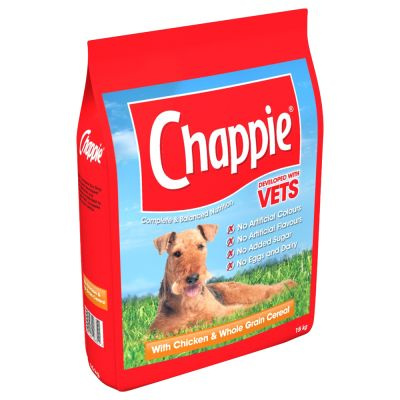 Chappie Complete Dry Dog Food - Chicken & Wholegrain - 15kg - PetMonkey
