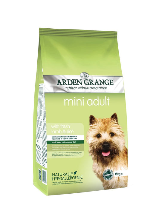 Arden Grange Hypoallergenic Mini Breed Adult Dry Dog Food - Lamb & Rice - 6kg - PetMonkey