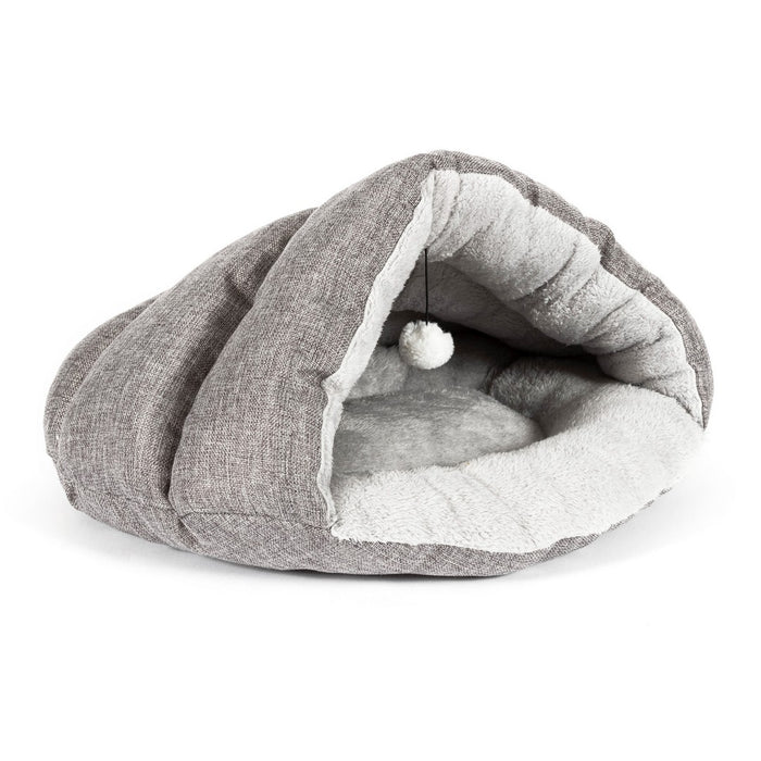 Ancol Cave Cat Bed - PetMonkey