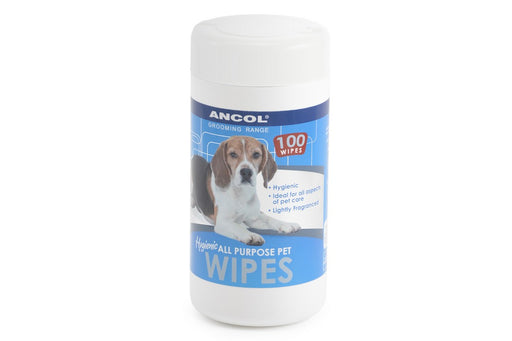 Ancol Grooming Wipes - Pack of 100 - PetMonkey