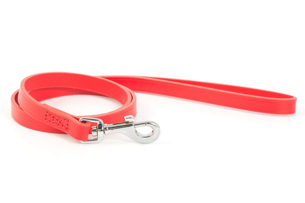 Ancol Heritage Leather Dog Lead - Tan / Red / Black - PetMonkey