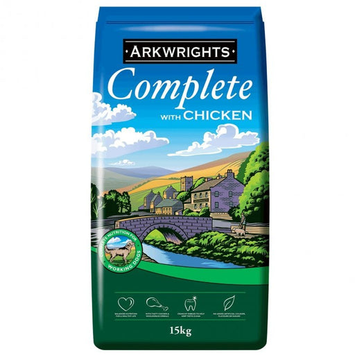 Arkwrights Complete Adult Dry Dog Food - Chicken - 15kg - PetMonkey