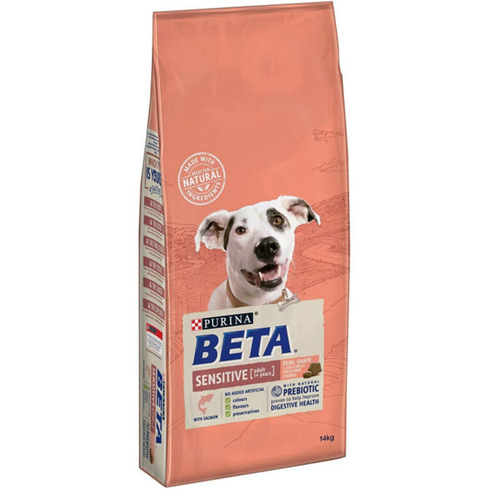 Beta Adult Sensitive Dry Dog Food - Salmon - 14kg - PetMonkey