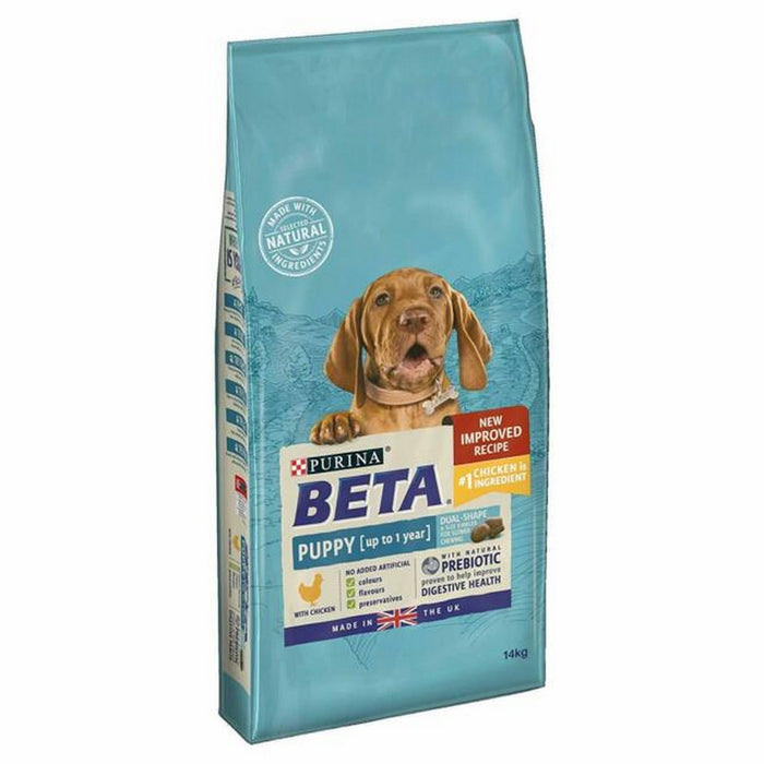 Beta Puppy Dry Dog Food - Chicken - 14kg - PetMonkey
