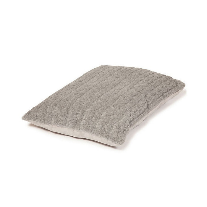 Danish Design Bobble Deep Duvet Dog Bed - Pewter - M - PetMonkey