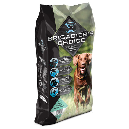 Brigadiers Choice Adult Dry Dog Food - Duck & Potato - 12kg - PetMonkey