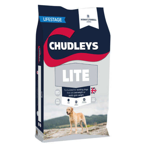 Chudleys Lite Dry Dog Food - 15kg - PetMonkey