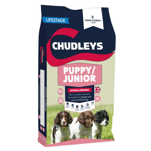 Chudleys Puppy / Junior Dry Dog Food - 12kg - PetMonkey