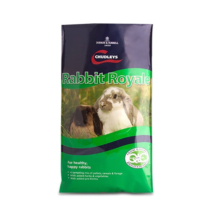 Chudleys Rabbit Royale - 15kg - PetMonkey