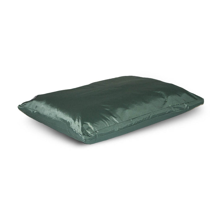 Danish Design County Deep Duvet Dog Bed - Green - L - PetMonkey
