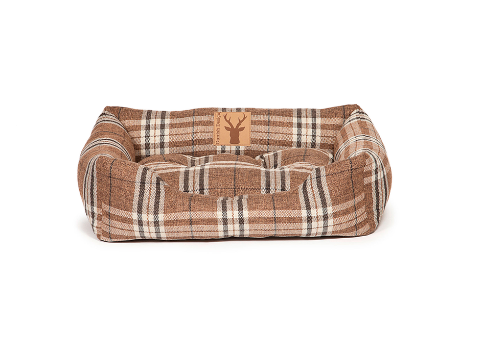 Danish Design Newton Snuggle Dog Bed - Truffle - L - PetMonkey