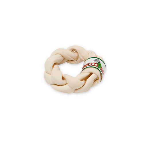 Farm Food Rawhide Dental Braided Donut - S / M / L (Discontinued 9 Jun 2020) - PetMonkey