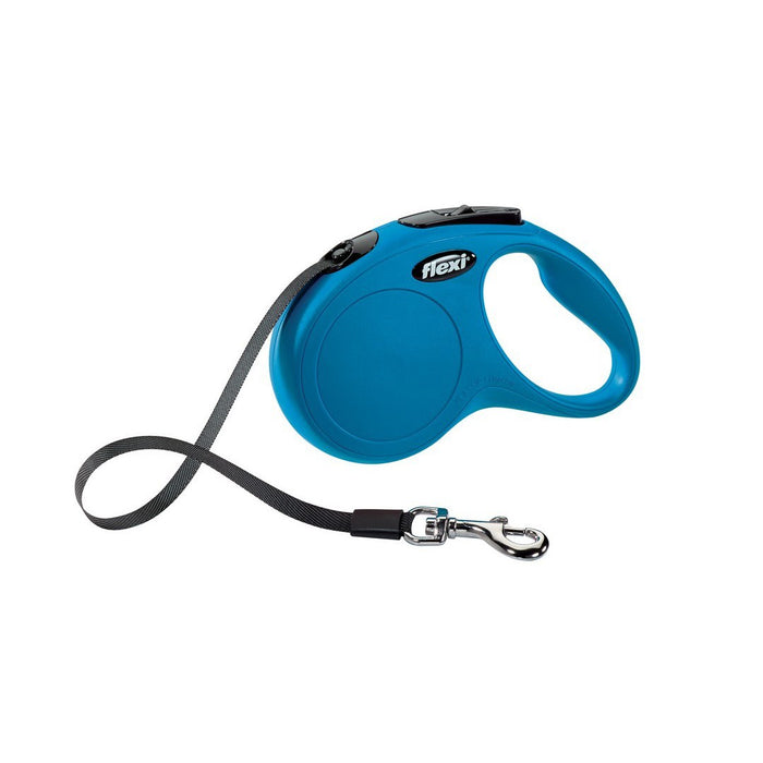 Flexi Classic Tape 5m Dog Lead - Blue - M - PetMonkey