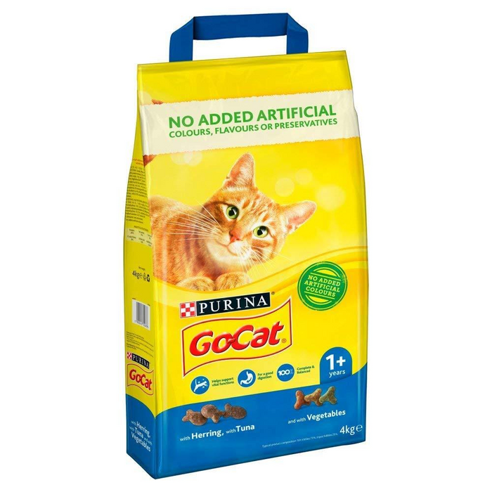 Go-Cat Dry Cat Food - Tuna Herring & Vegetables - 2kg - PetMonkey