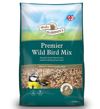 Harrisons Premier Wild Bird Mix - 20kg - PetMonkey