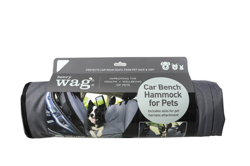 Henry Wag Car Bench Hammock For Pets - PetMonkey