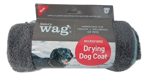 Henry Wag Microfibre Drying Dog Coat - XS / S / M / L / XL - PetMonkey