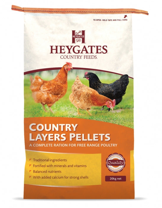 Heygates Country Layers Pellets - 20kg - PetMonkey