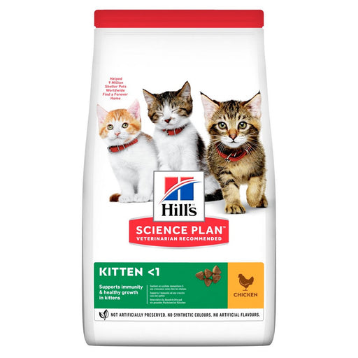 Hills Science Plan Kitten Dry Cat Food - Chicken - 7kg - PetMonkey