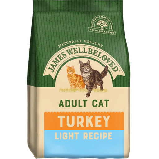 James Wellbeloved Adult Light Dry Cat Food - Turkey - 4kg - PetMonkey