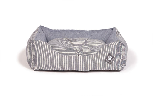 Danish Design Maritime Snuggle Dog Bed - Blue - M - PetMonkey