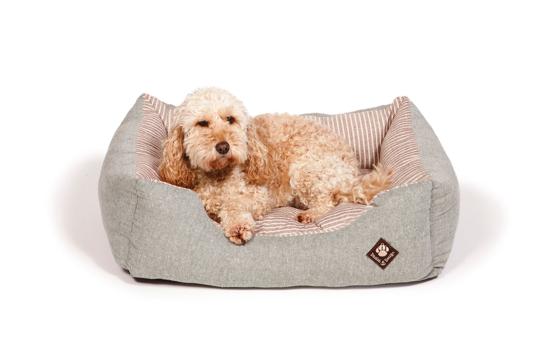 Danish Design Maritime Snuggle Dog Bed - Green - XL - PetMonkey