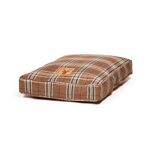 Danish Design Newton Box Duvet Dog Bed - Truffle - M - PetMonkey