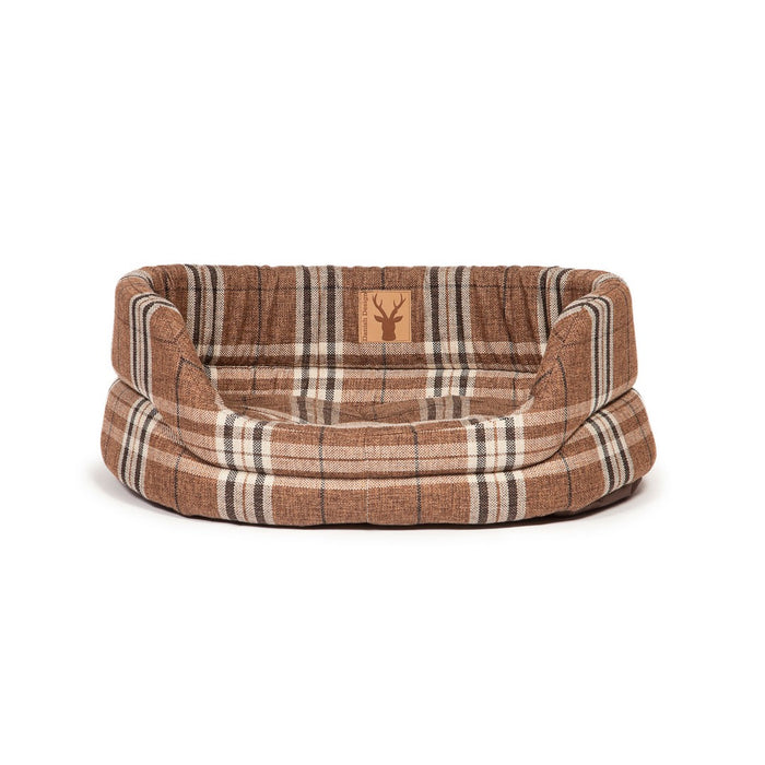 "Danish Design Newton Slumber Dog Bed - Truffle - 21""/53cm - PetMonkey"