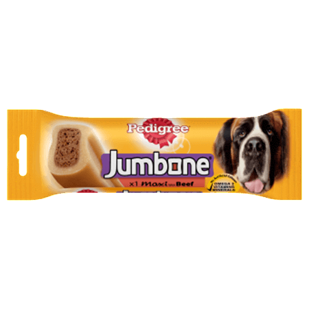 Pedigree Jumbone Large Dog Treats - Beef - PetMonkey