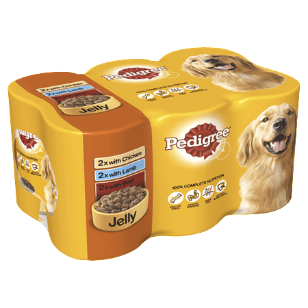 Pedigree Adult Wet Dog Food - Mixed Selection In Jelly - 24 x 385g - PetMonkey