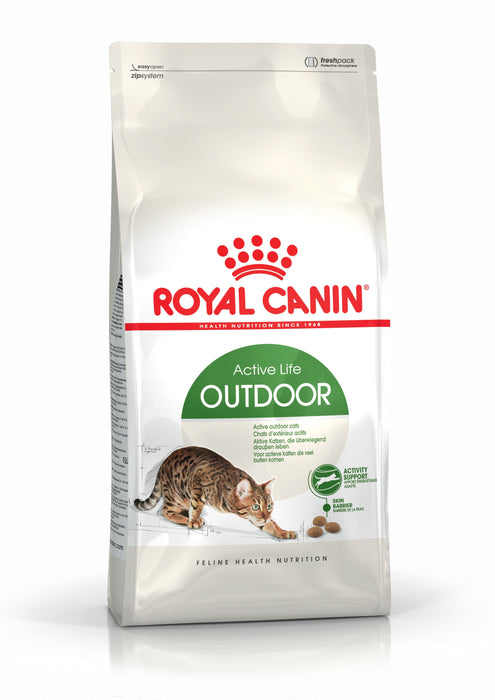 Royal Canin Active Life Outdoor Dry Cat Food - 4kg - PetMonkey