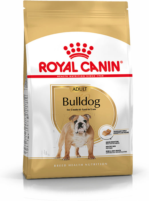 Royal Canin Bulldog Adult Dry Dog Food - 12kg - PetMonkey