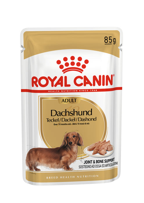 Royal Canin Dachshund Adult Wet Dog Food - 12 x 85g - PetMonkey