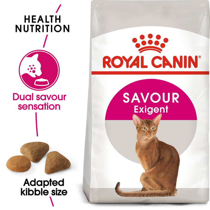 Royal Canin Feline Preference Savour Exigent Dry Cat Food - 4kg - PetMonkey