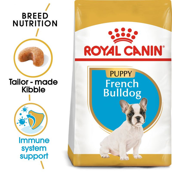 Royal Canin French Bulldog Puppy Dry Dog Food - 3kg - PetMonkey