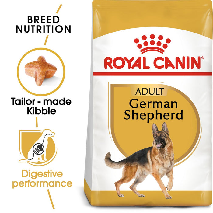 Royal Canin German Shepherd Adult Dry Dog Food - 11kg - PetMonkey