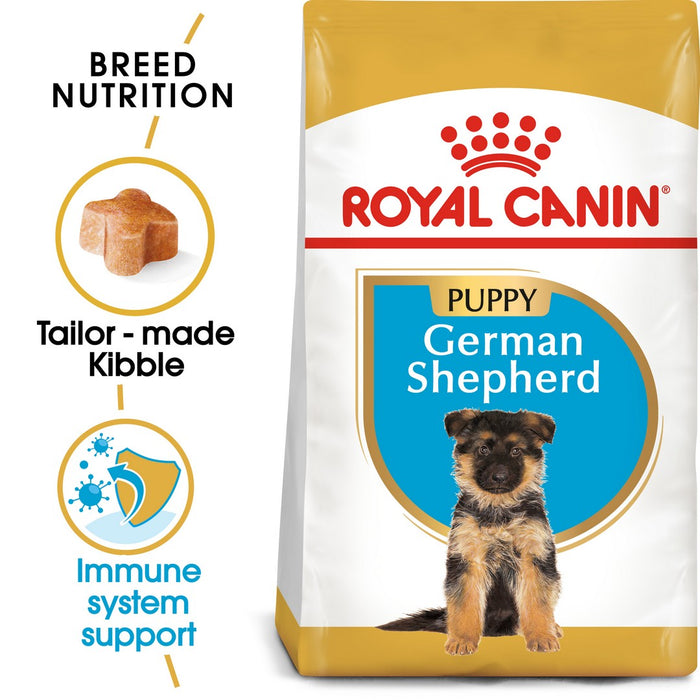 Royal Canin German Shepherd Puppy Dry Dog Food - 3kg - PetMonkey