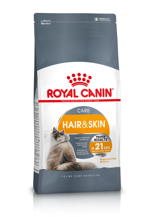 Royal Canin Hair & Skin Care Dry Cat Food - 4kg - PetMonkey