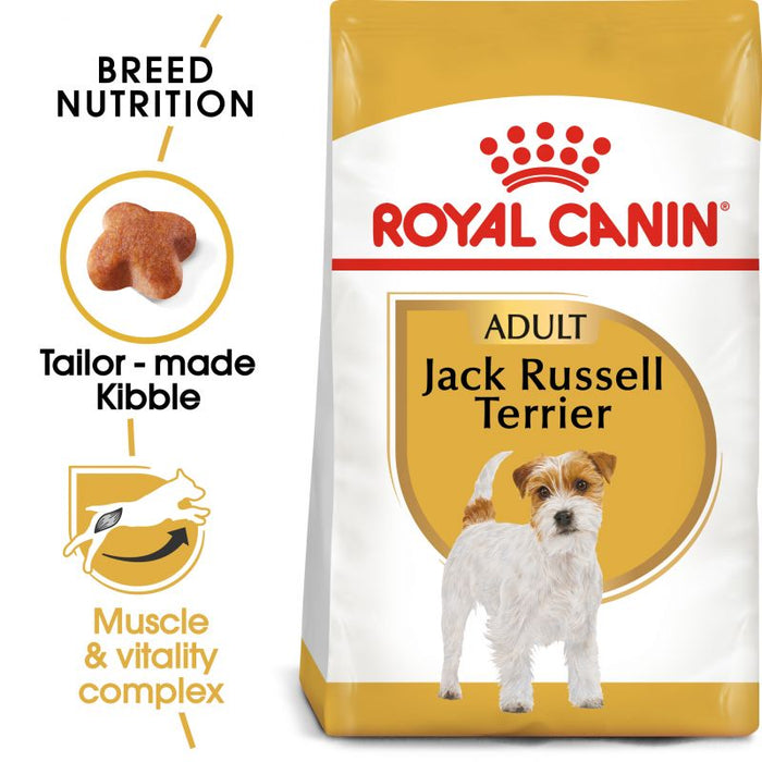 Royal Canin Jack Russell Adult Dry Dog Food - 7.5kg - PetMonkey