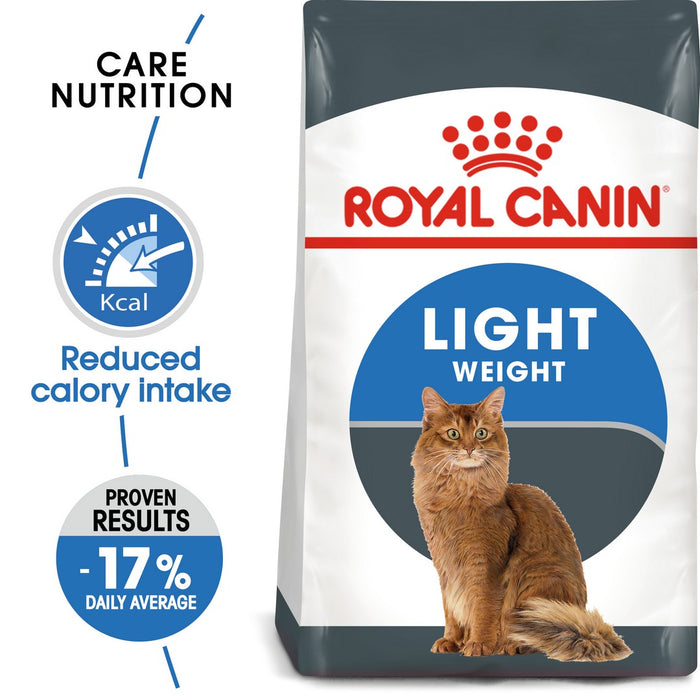 Royal Canin Light Weight Care Dry Cat Food - 8kg - PetMonkey