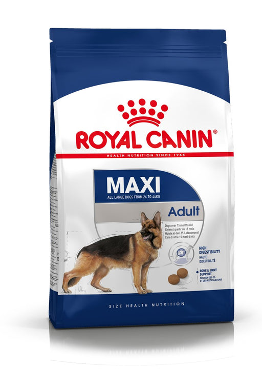 Royal Canin Maxi Adult Dry Dog Food - 15kg - PetMonkey