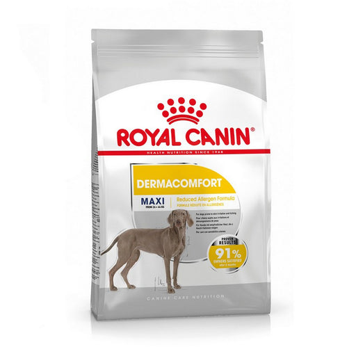 Royal Canin Maxi Adult Dermacomfort Dry Dog Food - 3kg - PetMonkey