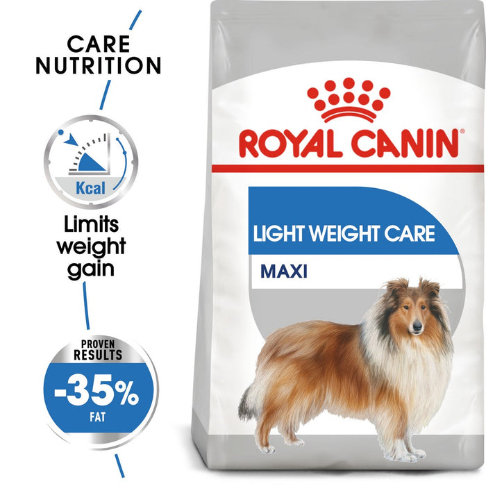 Royal Canin Maxi Light Weight Care Dry Dog Food - 10kg - PetMonkey