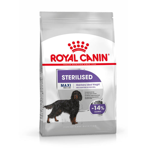 Royal Canin Maxi Adult Sterilised Dry Dog Food - 9kg - PetMonkey