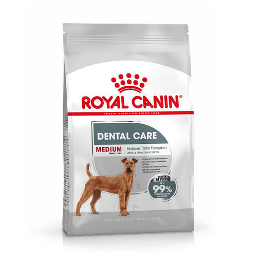 Royal Canin Medium Adult Dental Care Dry Dog Food - 10kg - PetMonkey