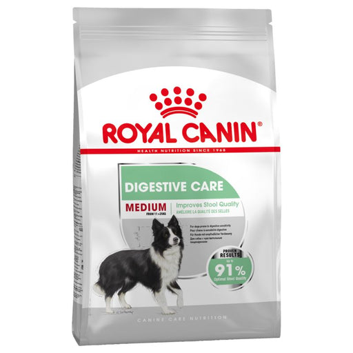 Royal Canin Medium Digestive Care Dry Dog Food - 3kg - PetMonkey