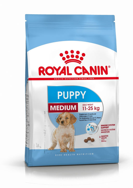Royal Canin Medium Puppy Dry Dog Food - 15kg - PetMonkey